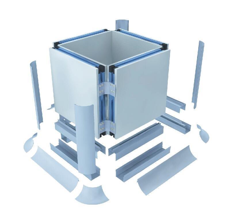 防水式柱子