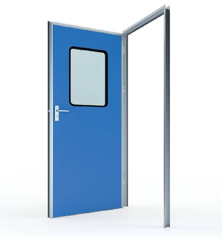 #50 Swing door with colored GI panel (door leaf thickness 50mm)