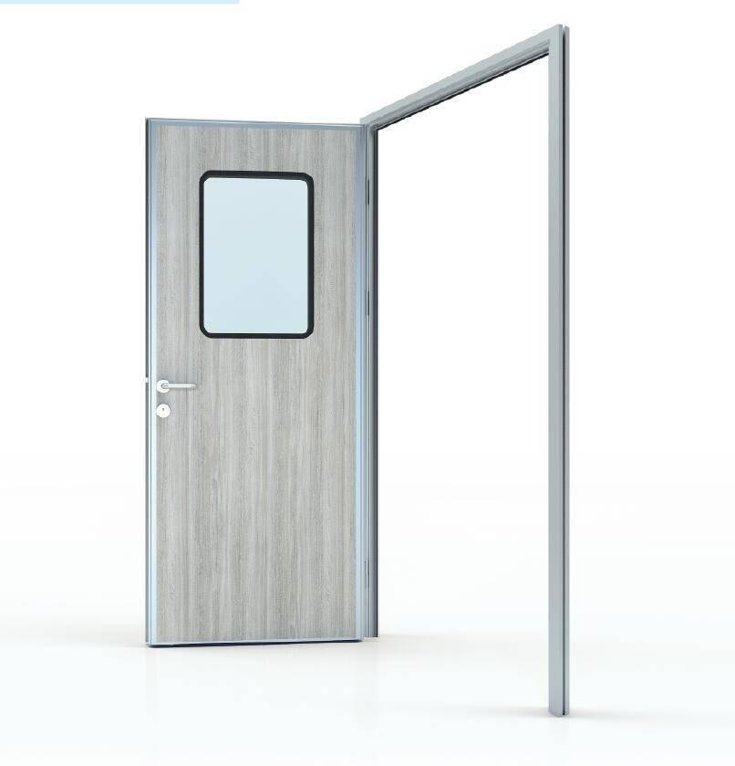 50# Swing door in HPL panel (door leaf thickness 50mm)
