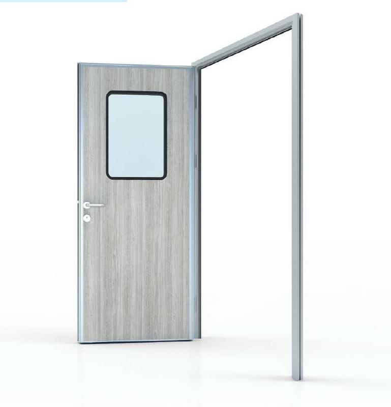 50# Swing door in HPL panel (door leaf thickness 50mm)