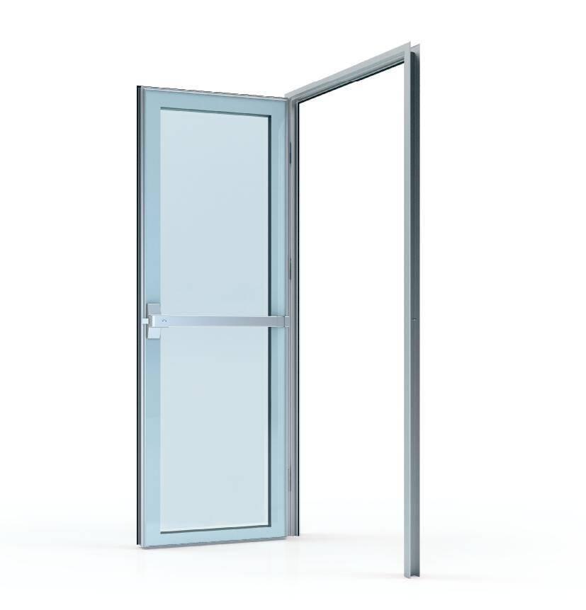 50# Glass swing door (door leaf thickness 50mm)