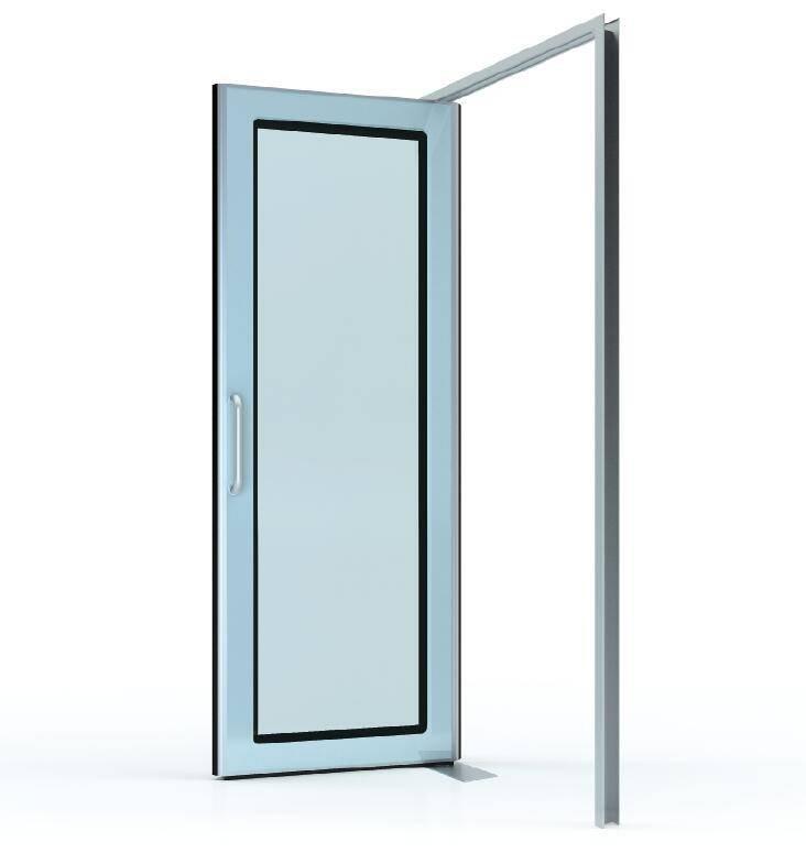 Free door (Floor spring door)