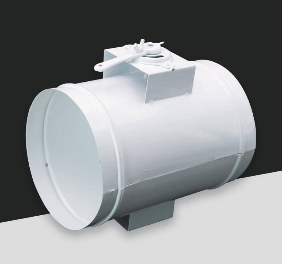 FK038-Round volume control damper