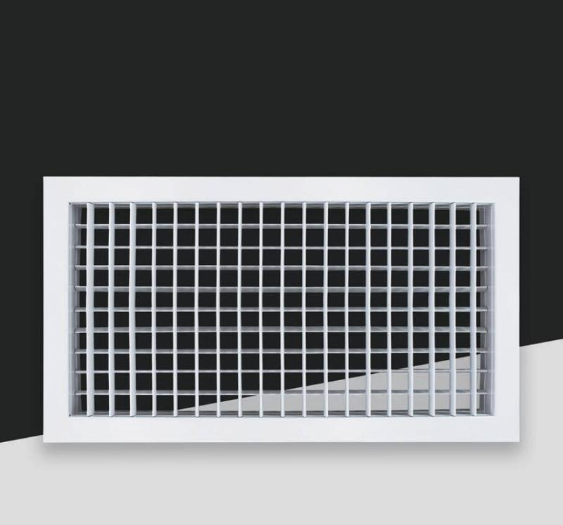 FK008B-Adjustable single/double deflection air grille