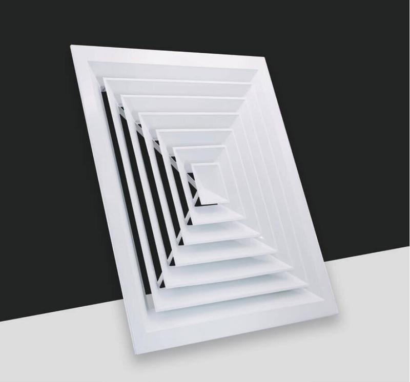 FK003/C-4 Way Square ceiling diffuser