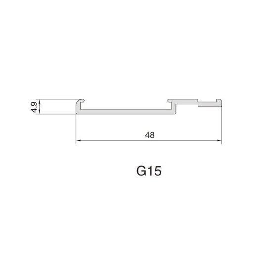 G15 AIR DIFFUSER PROFILE