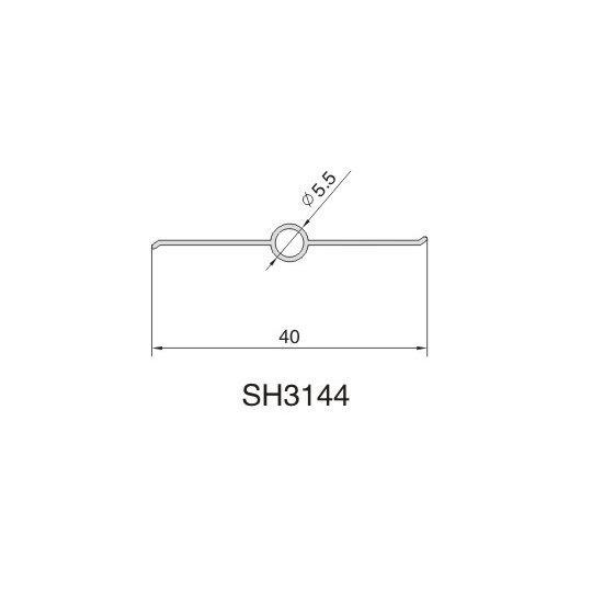 SH3144 AIR DIFFUSER PROFILE