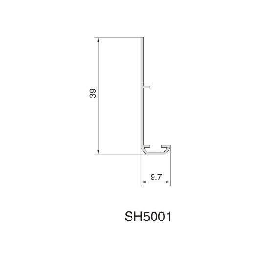 SH5001 AIR DIFFUSER PROFIEL