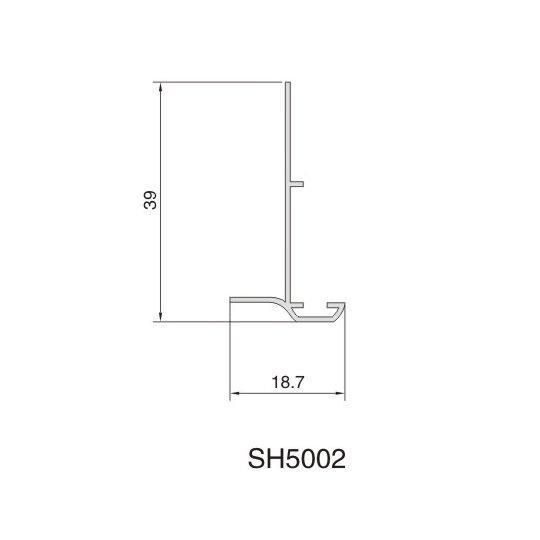 SH5002 AIR DIFFUSER PROFIEL