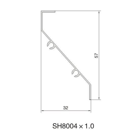 SH8004 AIR DIFFUSER PROFILE