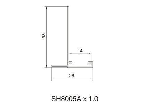 SH8005A AIR DIFFUSER PROFILE