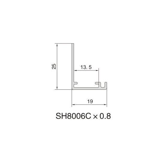SH8006C AIR DIFFUSER PROFILE