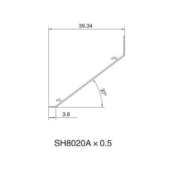 SH8020A AIR DIFFUSER PROFILE
