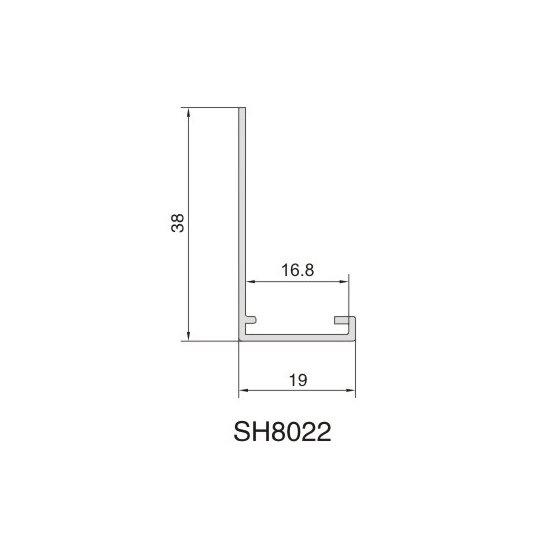 SH8022 AIR DIFFUSER PROFILE