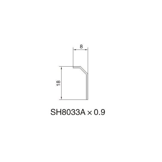 SH8033A AIR DIFFUSER PROFILE