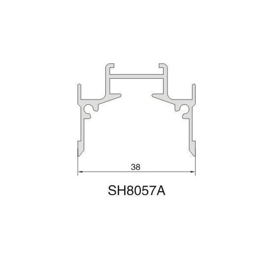 SH8057A AIR DIFFUSER PROFILE